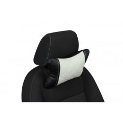 Подушка из Экокожи Ромб автомобильная под шею в Омске